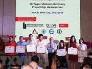 Vietnam y Alemania impulsan solidaridad entre los dos pueblos
