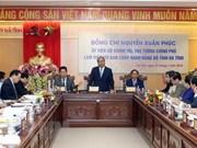 Premier vietnamita urge a provincia central de Ha Tinh a avanzar hacia el desarrollo sostenible