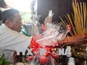 Rinden homenaje póstumo a mártires vietnamitas en provincia vietnamita de Tay Ninh