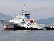 Fuerza de guardacostas de Japón atraca en puerto vietnamita de Tien Sa