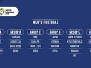 Equipo de fútbol masculino de Vietnam no se afecta por nuevo sorteo para juegos asiáticos