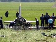 Dos pilotos fallecidos en accidente de avión militar vietnamita en entrenamiento