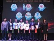 Honran a empresas destacadas de Vietnam en información y comunicación