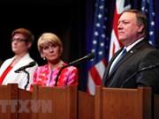 EE.UU. y Australia reafirman derecho a la libertad de navegación marítima en Mar del Este