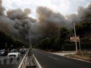 Vietnam expresa pésame a Grecia por fallecidos a causa de incendio forestal