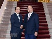 Premier de Vietnam respalda cooperación entre inspecciones gubernamentales de su país y Laos
