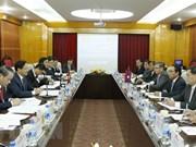 Inspectores generales de Vietnam y Laos comparten experiencias