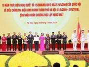 Hanoi conmemora 10 años de ampliación de su demarcación administrativa