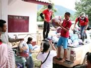 Cruz Roja de Vietnam ayuda a víctimas del colapso de presa hidroeléctrica en Laos