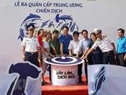Lanzan en Vietnam campaña de limpieza del mar