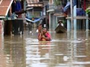 Myanmar: Evacúan a decenas a miles de personas por inundaciones