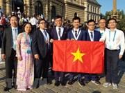 Vietnam cosecha medallas en Olimpiadas Internacionales de Física y Química