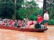 Equipo de rescate de Corea del Sur llega a Laos para ayudar a mitigar impacto de colapso de presa hidroeléctrica