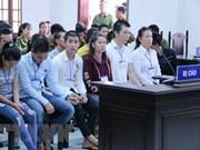 Condenan a acusados de provocar disturbio social en provincia vietnamita de Dong Nai