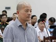 Proponen pena de prisión a exdirectivo de empresa del Ministerio de Defensa de Vietnam