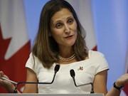 Canciller canadiense reitera deseo de intensificar nexos con ASEAN