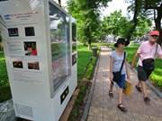 Instalará Hanoi otras mil maquinarias expendedoras automáticas