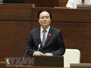 Ministro vietnamita de educación admite responsabilidad por fraude en examen de bachillerato