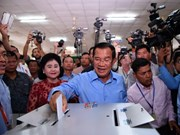 Vietnam congratula a Camboya por éxito de las elecciones legislativas