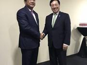 Vicepremier de Vietnam cumple amplia agenda al margen de reunión de ASEAN