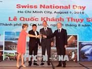 Celebran Día nacional de Suiza en Ciudad Ho Chi Minh