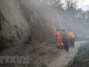 Indonesia anuncia plan de reparación de rutas al monte Rinjani tras el terremoto de 6,4 grados