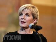 Australia respalda proceso de transformación en Malasia, afirma canciller Julie Bishop