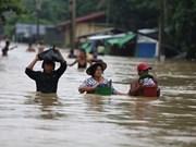 Inundaciones en Myanmar dejan 12 muertos