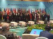Foro Regional de ASEAN llama a Corea del Norte a renunciar a armas nucleares