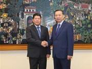 Vietnam y Tailandia intensifican cooperación en política y seguridad