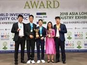 Vietnam cosecha garladones en Olimpiada Mundial de Creatividad e Invención