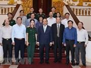 Premier de Vietnam dialoga con víctimas del Agente Naranja/ Dioxina