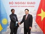 Vietnam atesora vínculos con Ruanda, destaca vicepremier