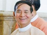 Presidente myanmeno insta a pobladores a participar en desarrollo de la ASEAN