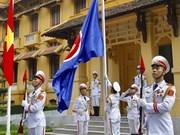 Celebran en Hanoi acto de izamiento de bandera de la ASEAN