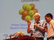 Titular de Nobel de Física estadounidense dialoga con estudiantes vietnamitas
