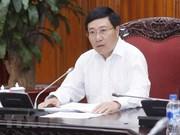 Vietnam revisa los preparativos para Foro Económico Mundial sobre ASEAN