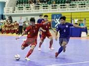 Club vietnamita avanza a la final del campeonato asiático de fútbol sala