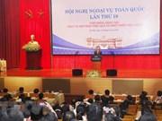 Promueven rol de la diplomacia en desarrollo socioeconómico de localidades vietnamitas