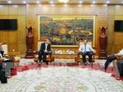 Favorecen inversión australiana en provincia vietnamita de Bac Giang