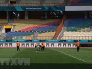 Estadio indonesio listo para debut de selección vietnamita de fútbol en ASIAD 2018