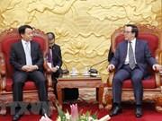 Delegación juvenil de China visita Vietnam