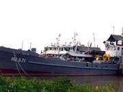 Buque HQ 671 de Vietnam reconocido como tesoro nacional