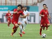Selección de fútbol de Vietnam debuta con fácil victoria ante Pakistán en ASIAD 2018