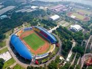 Cientos de atletas llegan a Palembang para juegos continentales ASIAD 2018