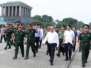 Premier inspecciona mantenimiento del Mausoleo del Presidente Ho Chi Minh