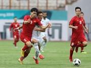 Equipo de fútbol vietnamita propone entrar a próxima fase en ASIAD 2018