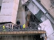 Vietnam expresa pésame a Italia por colapso de puente
