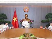 Premier de Vietnam pide impulsar economía marítima