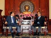 Ciudad Ho Chi Minh estimula inversión sudcoreana en zona urbana innovadora